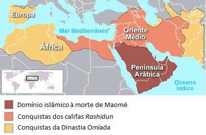 Expansão do Império Árabe