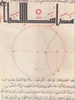 Manuscrito de Geômetra Árabe
