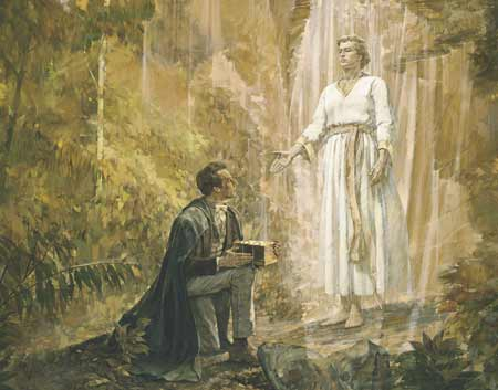Joseph Smith & Morôni.