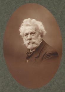 Retrato de Camille Flammarion