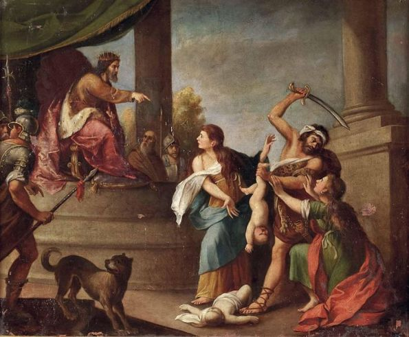 Salomão ante as duas mães