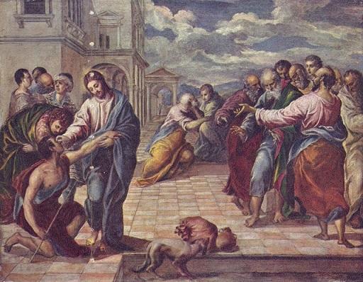 Jesus curando o cego