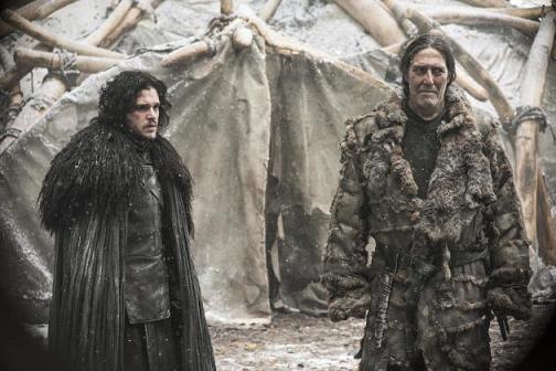 Jon Snow e Mance