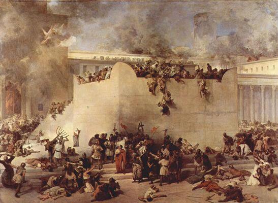 Quadro da destruição do Templo