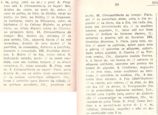 In - Dicionário de António G. Ferreira