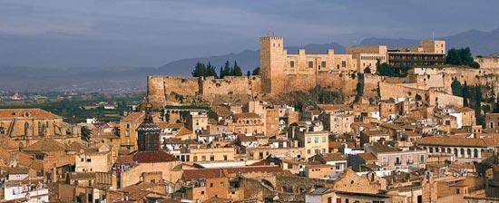 Vista da cidade de Tortosa