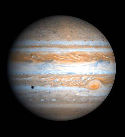 Representação artística do planeta Júpiter