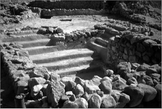 Piscina encontrada na comunidade de Qumran