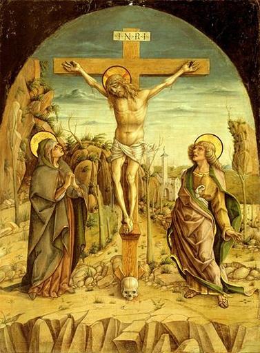 Crucifixão sobre o  crânio de Adão
