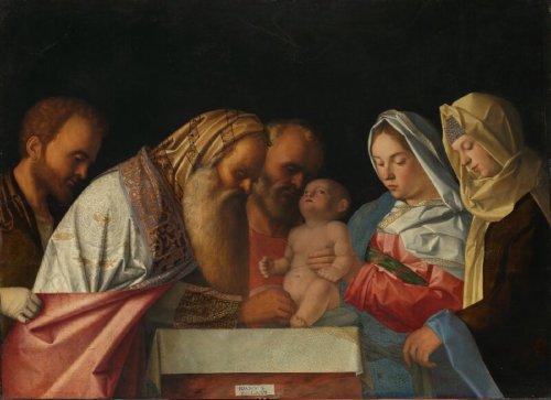 A Circuncisão de Jesus - por Giovanni Bellini